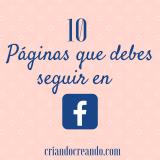 10 Páginas que debes seguir en Facebook